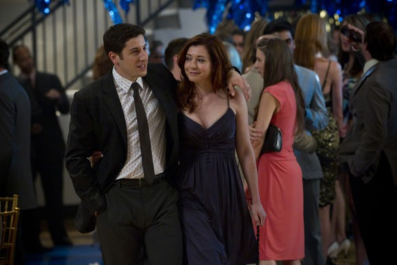 Jason Biggs and Alyson Hannigan American Reunion Photo