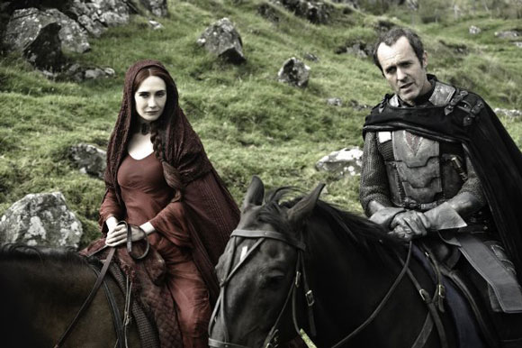 Stephen Dillane and Carie van Houten Photo