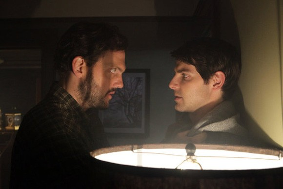 Silas Weir Mitchell and David Giuntoli Photo