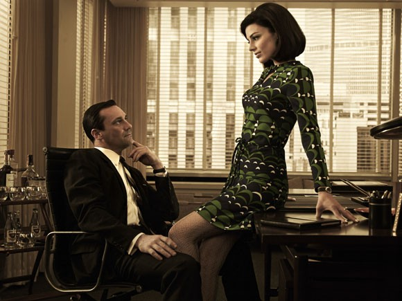 Jon Hamm and Jessica Pare Photo
