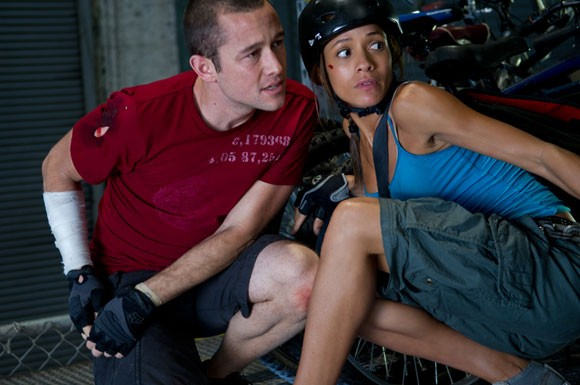 Joseph Gordon-Levitt and Dania Ramirez Photo