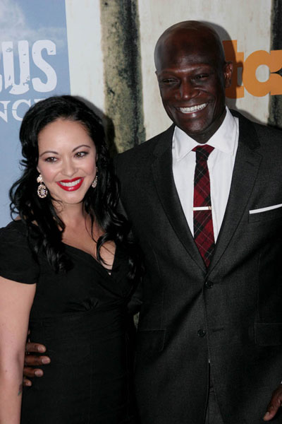Marisa Ramirez and Peter Mensah Photo