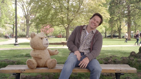 Ted and Mark Wahlberg Photo