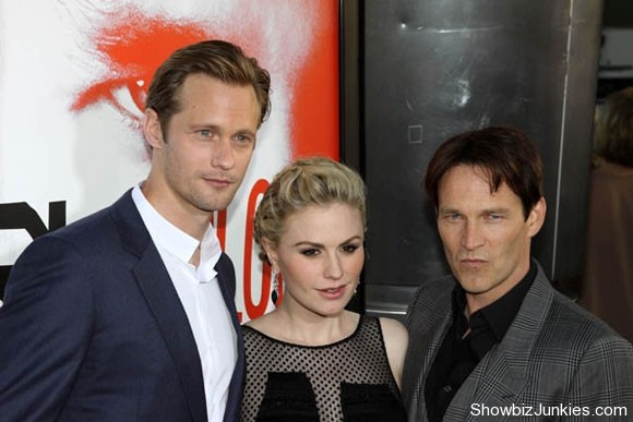 Alexander Skarsgard, Anna Paquin and Stephen Moyer Photo