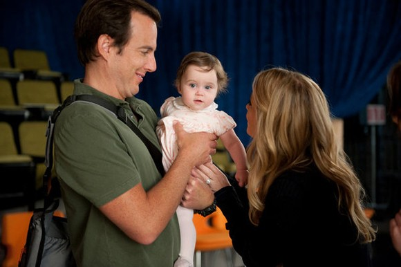 Christina Applegate, Carly Prince and Will Arnett Up All Night Photo
