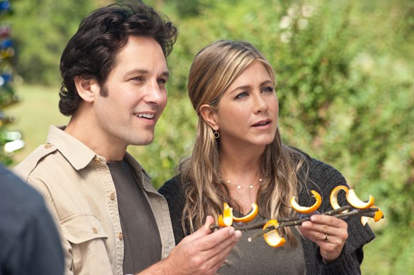Paul Rudd and Jennifer Aniston Wanderlust Photo