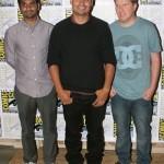 Aziz Ansari, Michael Pena, Nick Swardson at Comic Con