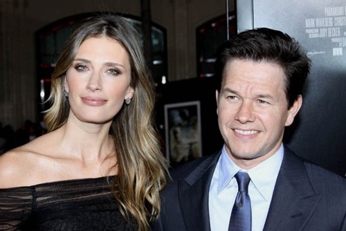 Rhea Durham and Mark Wahlberg at The Fighter Premiere