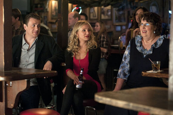 Jason Segel, Cameron Diaz and Phyllis Smith in Bad Teacher