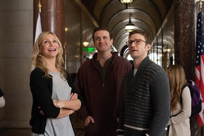 Cameron Diaz, Jason Segel and Justin Timberlake in Bad Teacher.