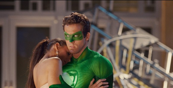 Blake Lively and Ryan Reynolds in 'Green Lantern'