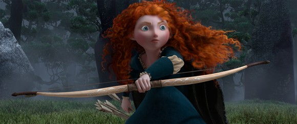 Kelly Macdonald voices Merida in 'Brave'