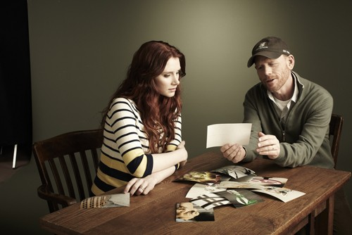 Bryce Dallas Howard and Ron Howard Work on Project Imagin8ion