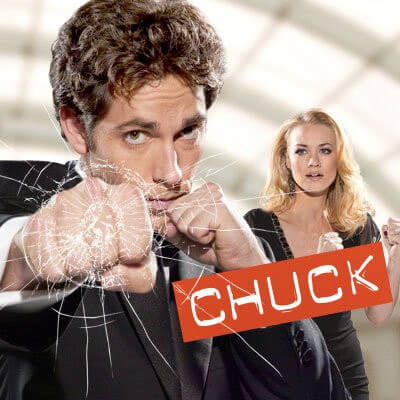 Zachary Levi in Chuck