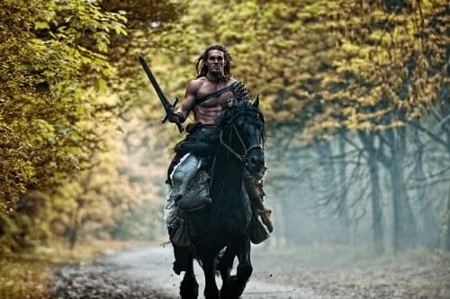 Jason Momoa in Conan the Barbarian