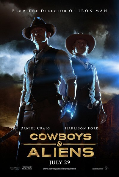 Cowboys and Aliens Film Poster