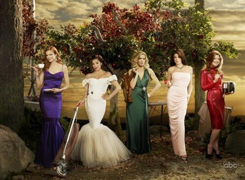 The Ladies of Wisteria Lane in Desperate Housewives