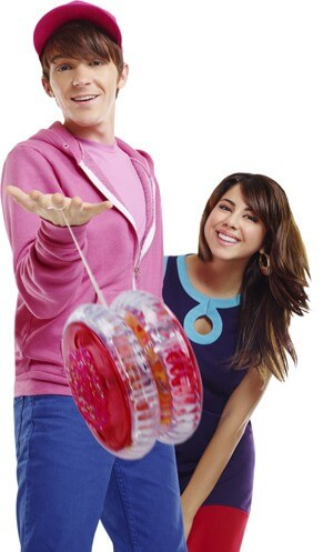 Drake Bell and Daniella Monet in 'Fairly Odd'