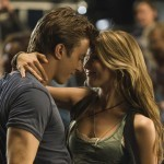 Kenny Wormald and Julianne Hough in Footloose