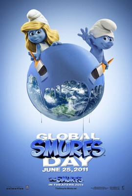 Global Smurfs Day Poster