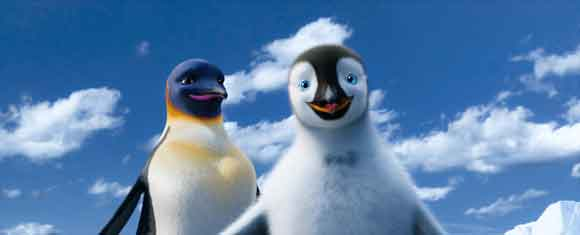 A scene from 'Happy Feet 2'