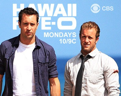Alex O'Loughlin and Scott Caan in Hawaii Five-O