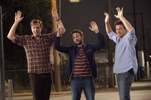 Jason Sudeikis, Charlie Day and Jason Bateman in Horrible Bosses