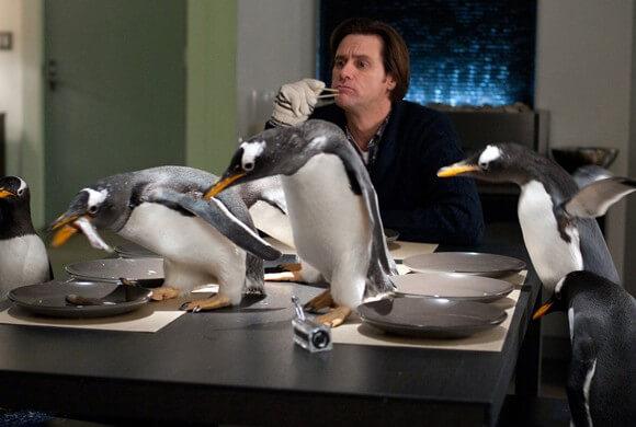 Jim Carrey in Mr Popper's Penguins