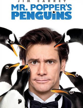 Jim Carrey in Mr Poppers Penguins