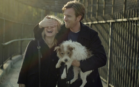 Melanie Laurent, Ewan McGregor and Cosmo in Beginners