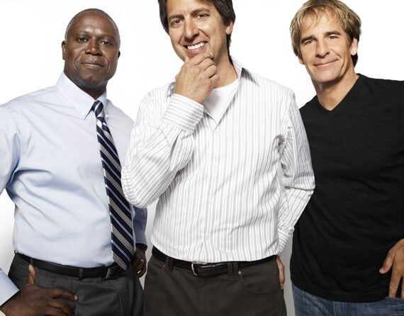 Andre Braugher, Ray Romano and Scott Bakula in Men of a Certain Age