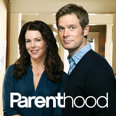 Lauren Graham and Peter Krause in Parenthood
