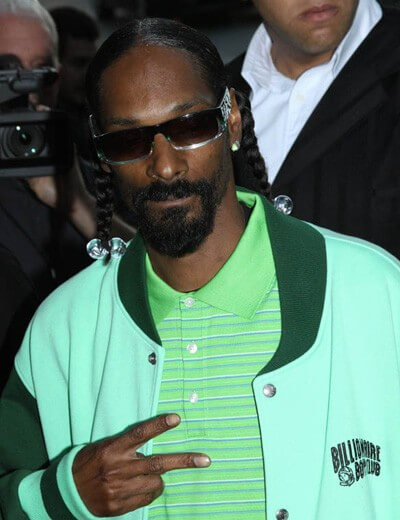 Snoop Dogg at the Takers Premiere