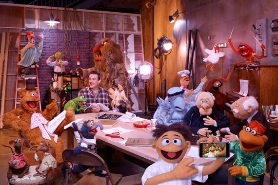 Jason Segel in The Muppets