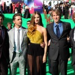 Transformers Dark of the Moon Cast Photo at the Russia Premiere