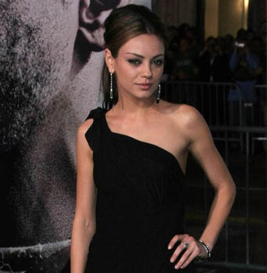 Mila Kunis at The Book of Eli Premiere