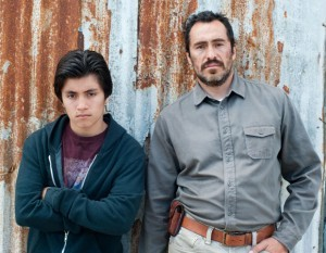 Jose Julian and Demian Bichir in 'A Better Life'