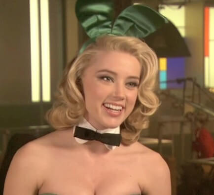 Amber Heard in The Playboy Club