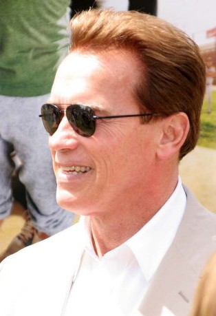 Arnold Schwarzenegger at The Benchwarmers Premiere