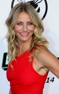 Cameron Diaz at the Green Hornet Premiere