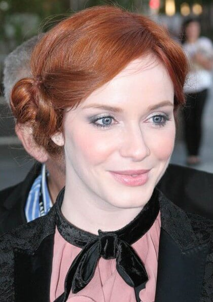 Christina Hendricks at the Drive Premiere