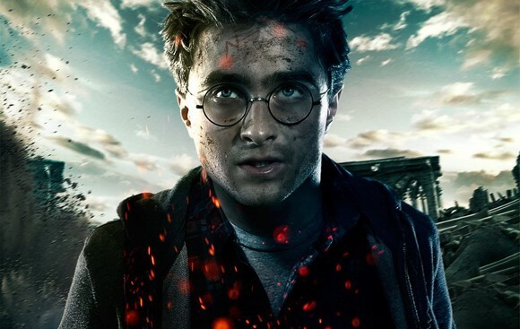 Daniel Radcliffe in 'Harry Potter and the Deathly Hallows Part 2'