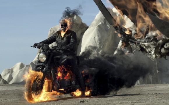 Ghost Rider in 'Ghost Rider: Spirit of Vengeance'