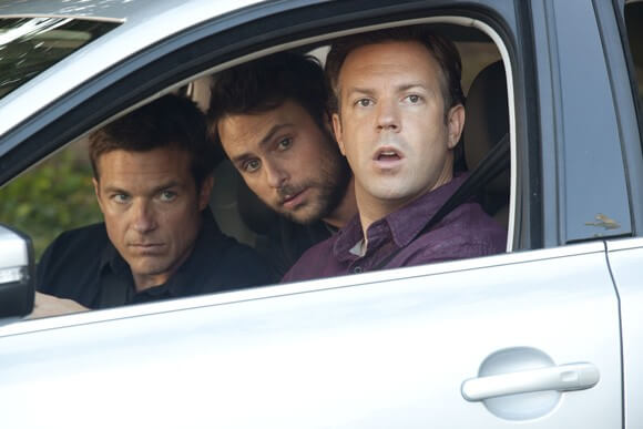 Jason Bateman, Charlie Day and Jason Sudeikis in Horrible Bosses.