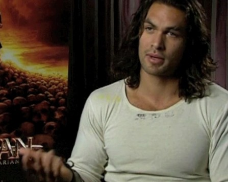 Jason Momoa Conan the Barbarian Video
