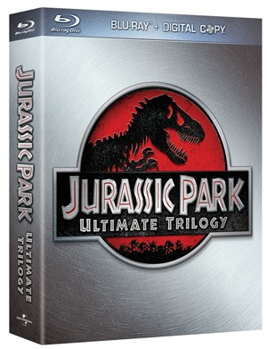 The Jurassic Park Trilogy on Blu-Ray