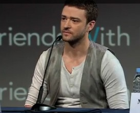 Justin Timberlake Friends with Benefits Press Conference