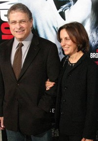 Lawrence and Meg Kasdan at the In the Land of Women Premiere