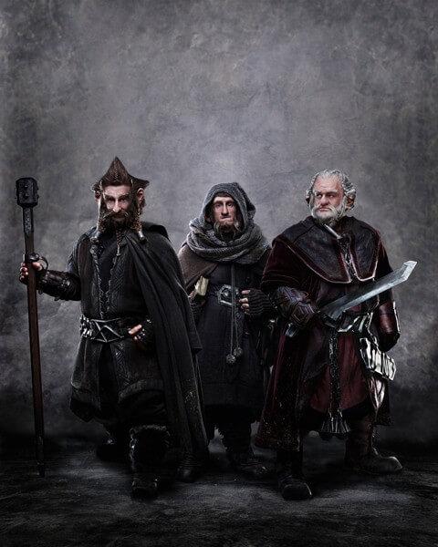 Nori, Ori and Dori The Hobbit Photo