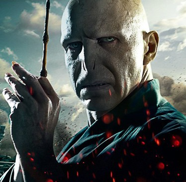 Ralph Fiennes as Lord Voldemort in Harry Potter and the Deathly Hallows Part 2